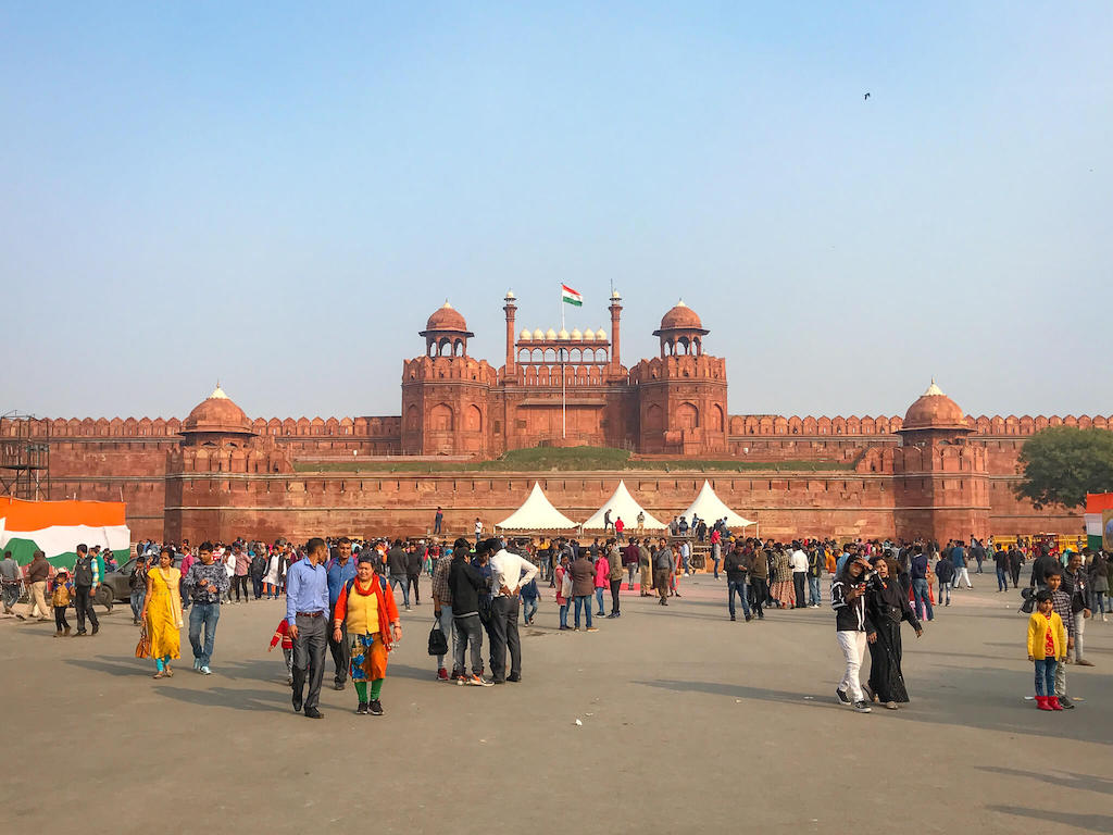 Places to visit in North India, Red Fort in Delhi