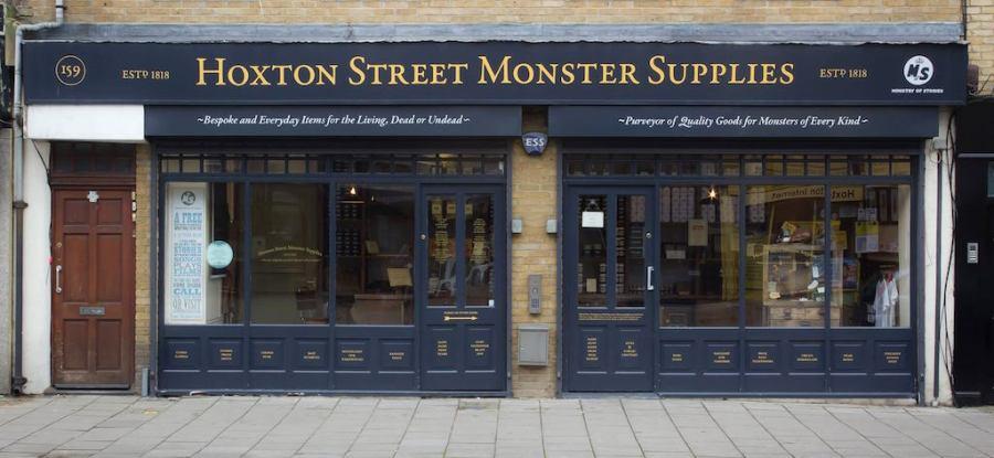Harry Potter Shop - Hoston Street Monster Supplies