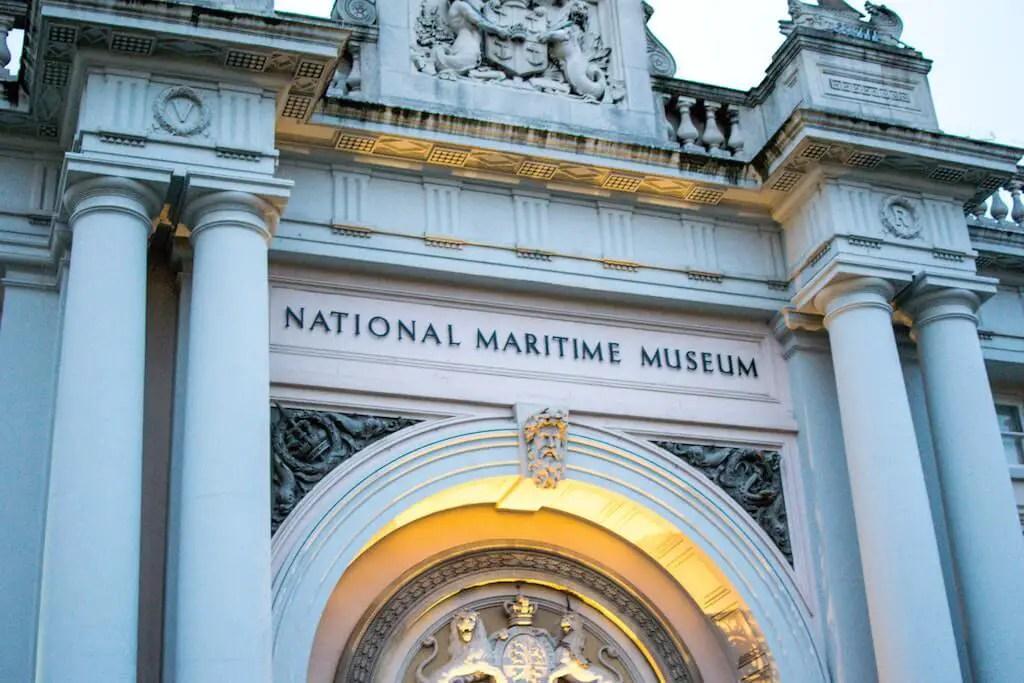 National Maritime Museum in Greenwich London