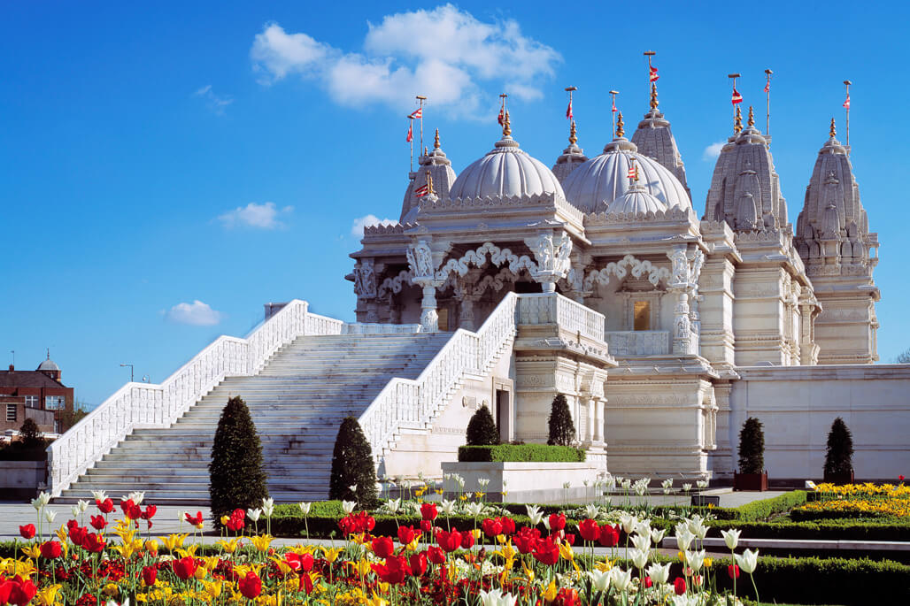 Hindu Temple in London