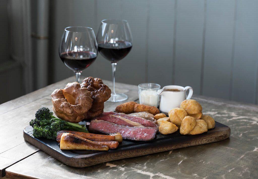 Harwood Arms Sunday roast, best roast dinner in London
