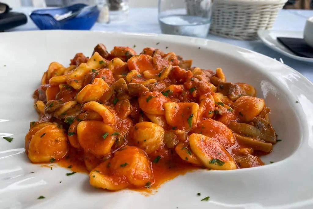 Orecchiette Puglia Fod