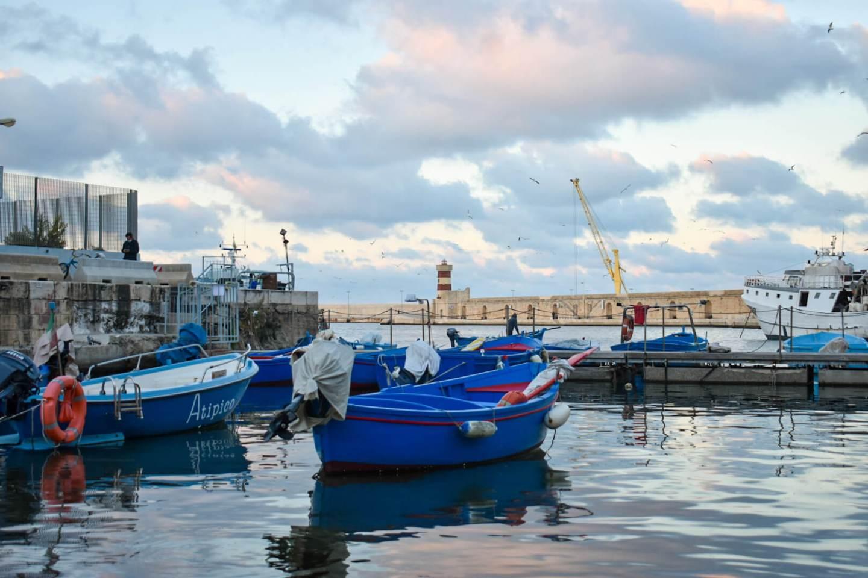 Monopoli Puglia fishing port