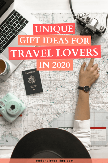 Gifts for travel lovers pin