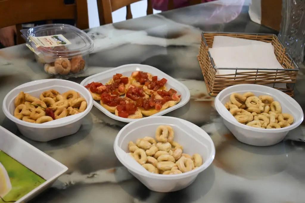 Taralli Puglia snack