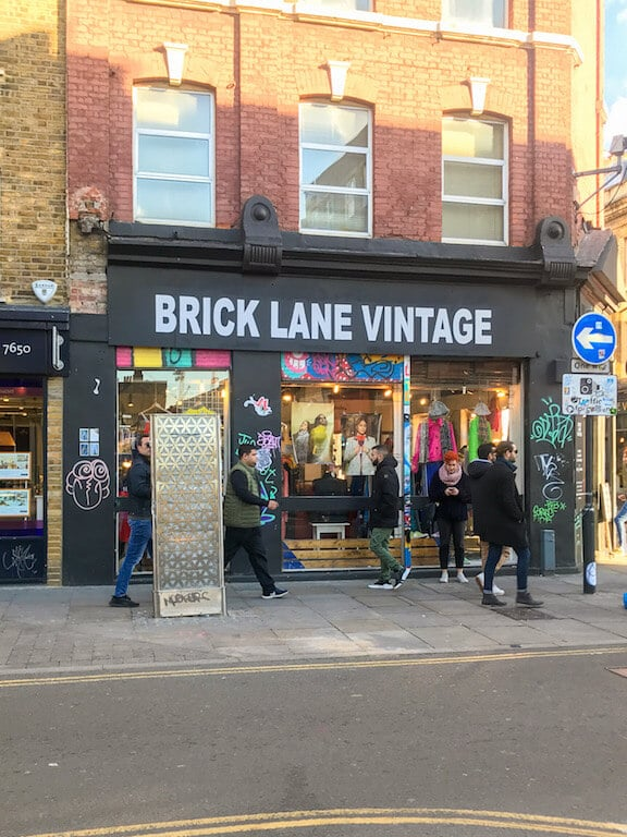 Brick Lane Vintage Shop Shoreditch