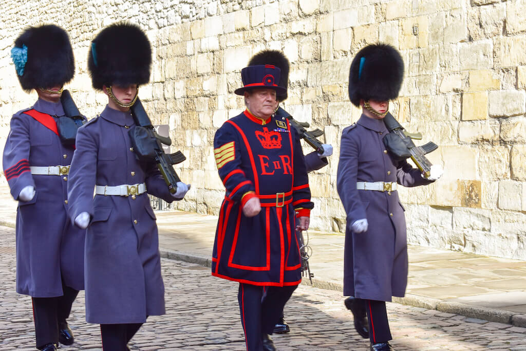 3. The Ceremony of the Keys at the Tower of London