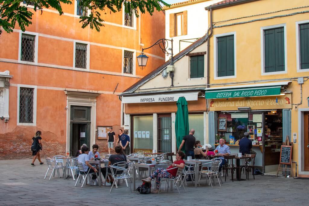 Cafe in Venice Italy