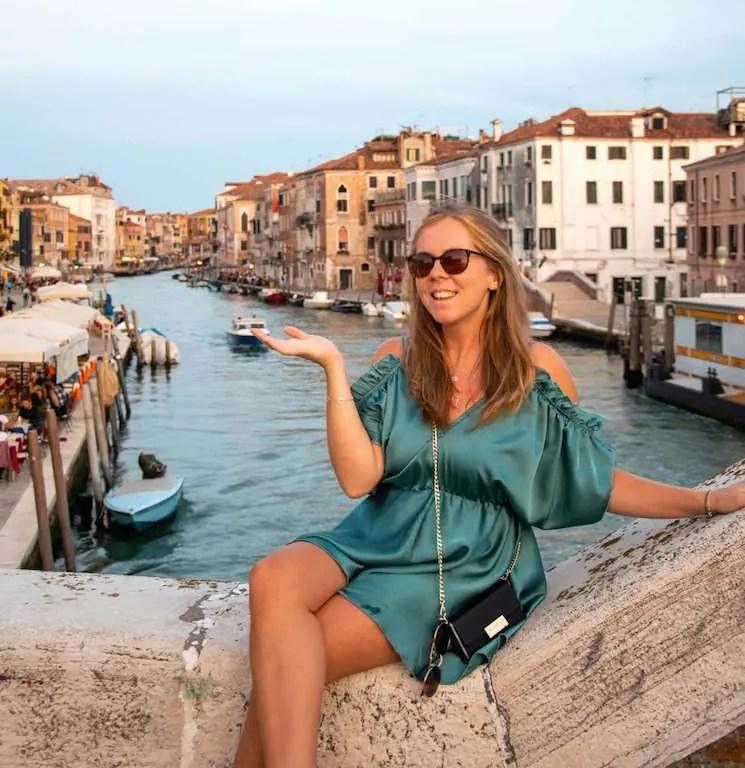Emily in Venice
