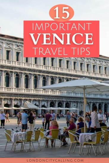 Things to know before visiting Venice Italy pin