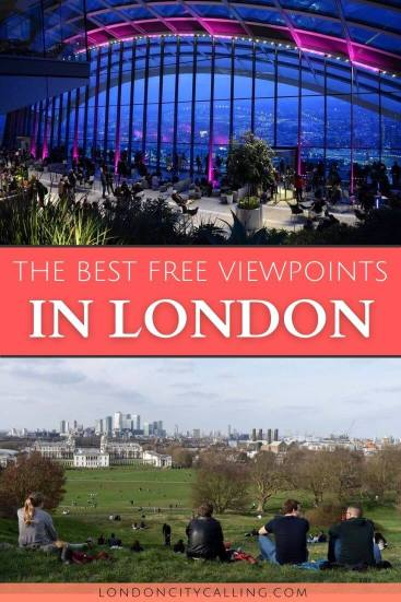 Best free view of London pin