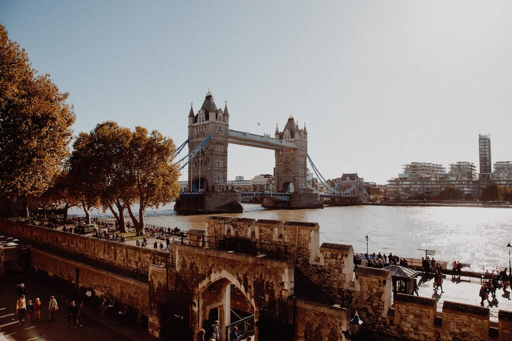 Tower of London and Bridge