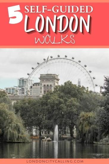 Self guided London walks