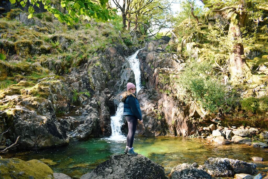 Waterfall in Snowdonia National Park