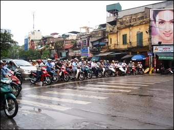 Vietnam cycling in Hue