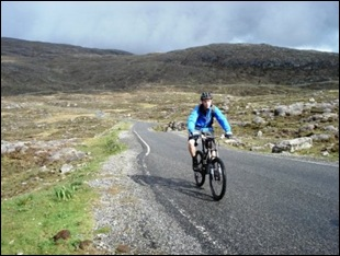 Cycling in Talbert (Harris)