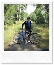 Cycling the Curonian Spit in Lithuania