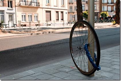 bike wheel lock