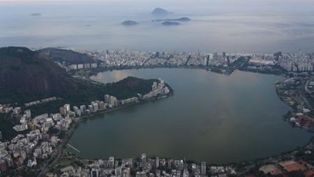 The view over Ipanema in Rio de Janeiro