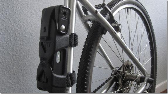 Abus foldable lock