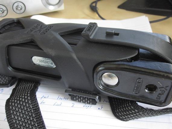 Abus Granit Bordo Folding Lock