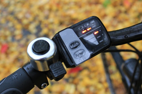 Changing the eBike power setting