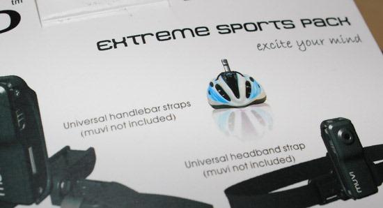 Veho muvi extreme sports pack