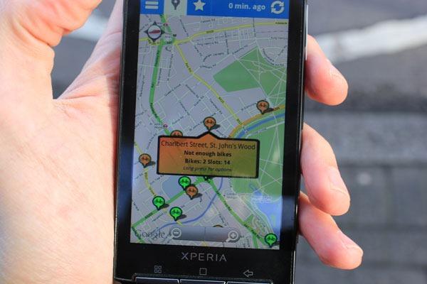 xperia-cycle-hire-widget