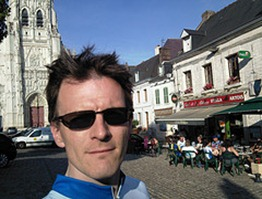 In Saint-Riquier (another beer stop before reaching Abbeville) by Trevor Coultart, on Flickr