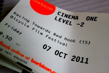 Bicycle film festival ticket