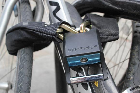 Hiplock around my bike