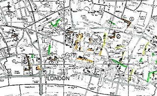 London's one way systems