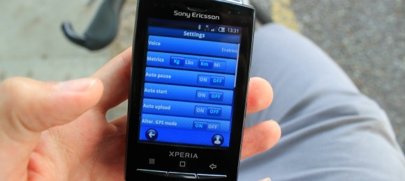 sportypal pro settings screen