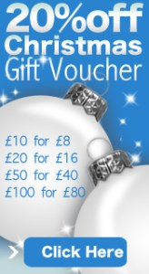 20% off Christmas Vouchers at Chain Reaction Cycles
