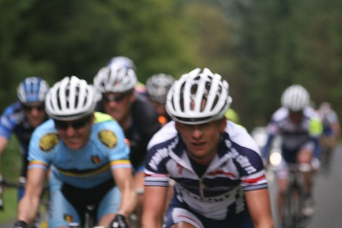 Cycling in a group - Via Flickr Owen P