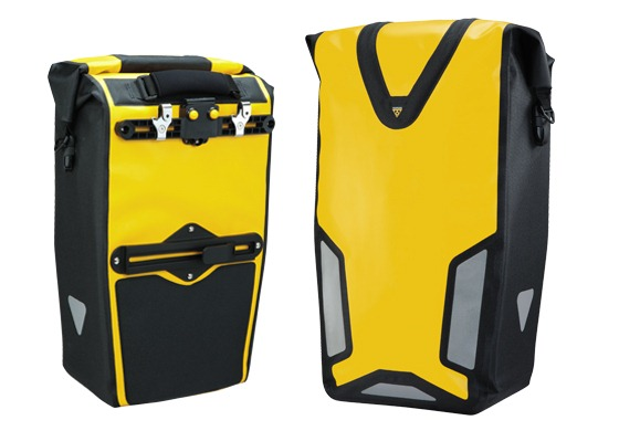 Topeak Pannier DryBag DX product picture - yellow version