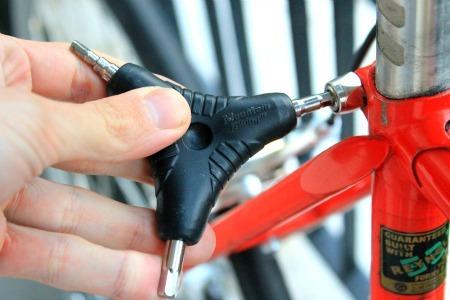 Allen key bike maintenance tool