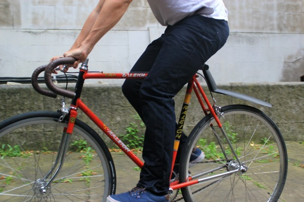 Rapha cycling jeans