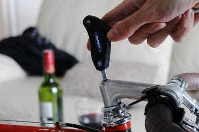 Bike repairs at home