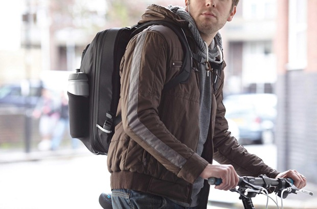 Union 34 bag on back