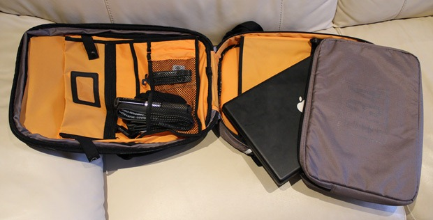 Union 34 Stripe Rucksack Pannier Bag