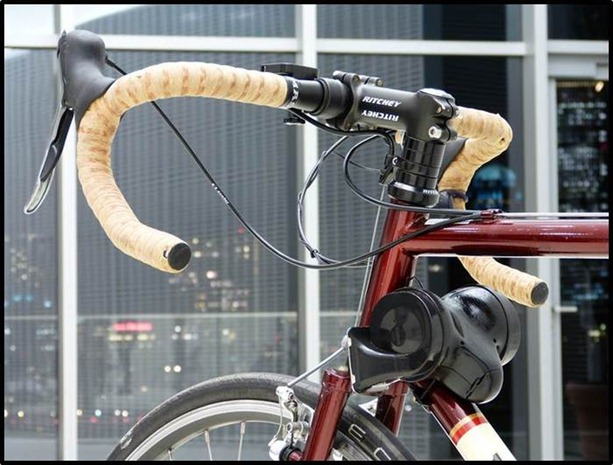 Loud bike horn
