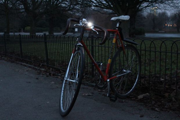 Knog Blinder on bike