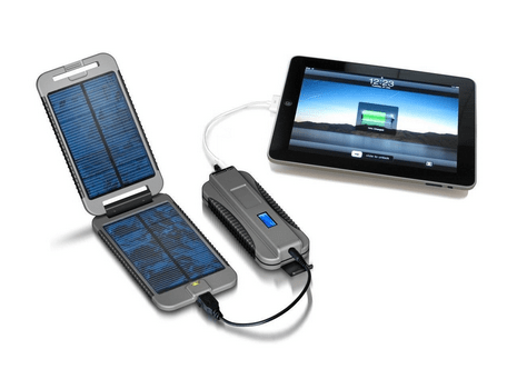 Powertraveller Extreme solar charger for cyclists