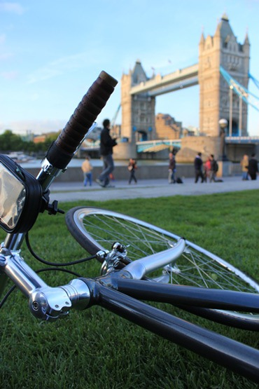 Bicycle near Tower Bridge