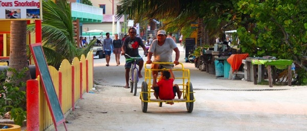 Carribean cyclist