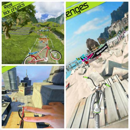 BMX Bike tricks app