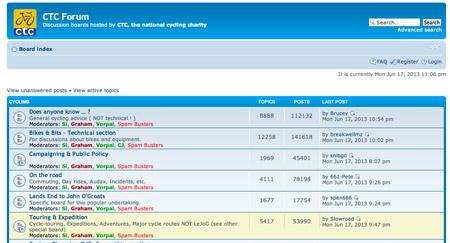 CTC Forum Screenshot