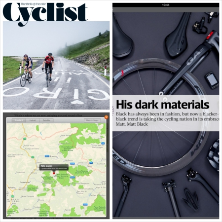 Cyclist magazine iPad bike app