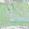 Hyde park cycling map